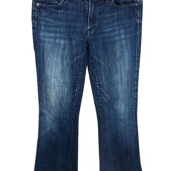 Citizens of Humanity Jeans Amber Stretch High Rise Bootcut Dark Wash Womens 27-Preowned