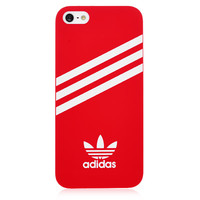 Red Adidas Hard Back Cover for iPhone 5 & 5S