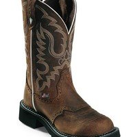 Justin Leather Gypsy Boots - Sheplers