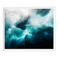 Ocean Storm Framed Print by 41 Orchard | Zanui