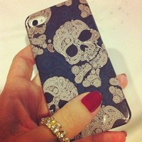 Punk Skull With Stylish Pattern IPh.. on Luulla