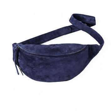 Stilleben — Blue Suede Bum Bag