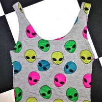 SWEET LORD O'MIGHTY! AYY LMAO BRALET IN GREY