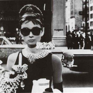 Breakfast at Tiffany's Holly Golightly Poster 24x36