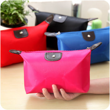 On Sale Hot Sale Hot Deal Beauty Korean Stylish Fashion Ladies Canvas Storage Bags Make-up Bag [6282903110]