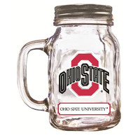 16Oz Mason Jar Ohio State