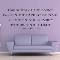Happiness Can Be Found - Harry Potter Wall Decal - No 2