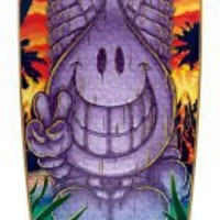 World Industries Tiki Willy Longboard Skateboard Complete