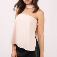 Around We Go Choker Top
