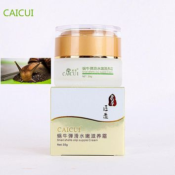 CAICUI Korea Gold Snail Face Cream Moisturizing Whitening Anti-aging Anti wrinkle Day Cream Face Care