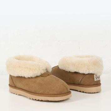 DCCK8X2 UGG Boot Mens Sheepskin Slipper