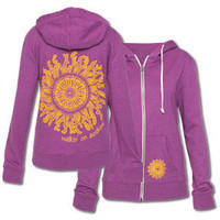 NEW! Walkin' on Sunshine Women's Eco Hoody: Soul-Flower Online Store