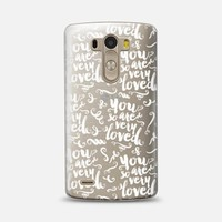 You Are So Very Loved (pattern 03 android) LG G3 case by Noonday Design | Casetify