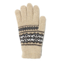 Classic Snow Flake Knit Glove