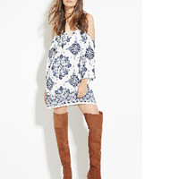 Casual Halter Neck Print Dress