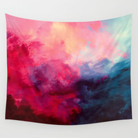 Reassurance Wall Tapestry by Caleb Troy