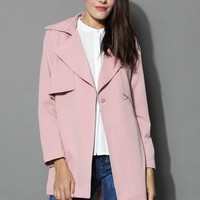 The Best Of Timeless Trench Coat in Pink
