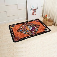 New Home 3D Carpet Livingroom Bedroom Carpet Anti-Slip Rectangular Rug Baths Bathroom Mat Toilet Mats Door Mat Kitchen Mats