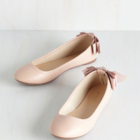 Darling Tasteful Touch Flat in Blush