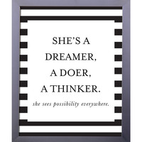 Dreamer, Doer, Thinker | Printable