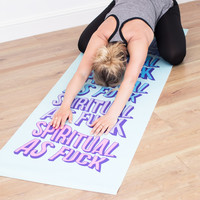 Spiritual as Fuck Yoga Mat | FIREBOX\u00ae
