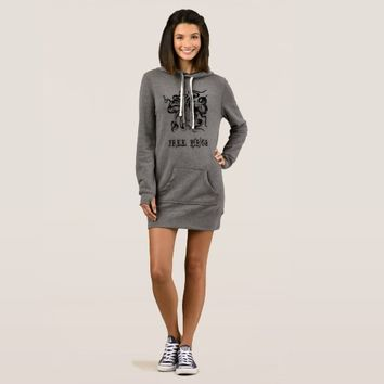 Octopus Free Hugs, Women's Hoodie Dress