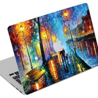 Stickers Macbook Decal Skin Macbook Air Skin Pro Skins Retina Cover Paint  Colors Picture Christmas Gift New Year ( rm27)