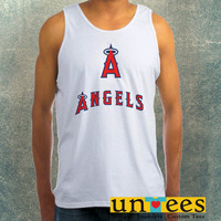 Los Angeles Angels Clothing Tank Top For Mens