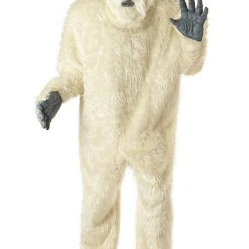 Adult Abominable Snowman (Plus Size (48-52),White)