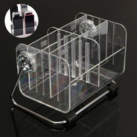 Home Storage Stand Shelf Acrylic TV Remote Control Clear Holder Mobile Phone Key Pen Glasses Rack Organizer Box Bins