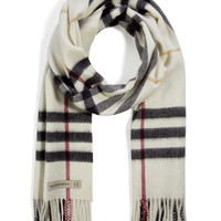 Burberry Shoes & Accessories - Cashmere Giant Check Icon Scarf