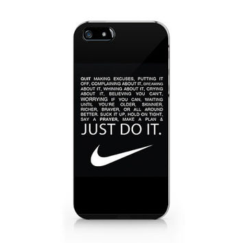 A-232 Just Do It - iPhone Case