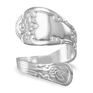 High Polish Spoon Ring
