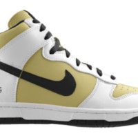 Nike Dunk High NFL New Orleans Saints iD Custom Kids' Shoes - White
