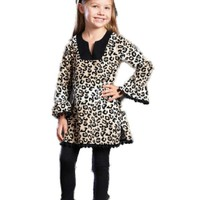 Mud Pie-Leopard Tunic  (Size 12-18 mth)