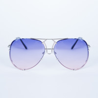 Colored Aviator Sunglasses - Light Shades