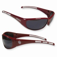 Collegiate Oklahoma Wrap Sunglasses