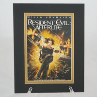 Resident Evil: Afterlife 8x10 Authentic Movie Backer/Mini Poster Display Matted E0262