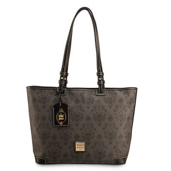 The Haunted Mansion Shopper Tote by Dooney & Bourke   Disney Store