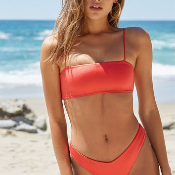LA Hearts Cropped Bikini Top at PacSun.com