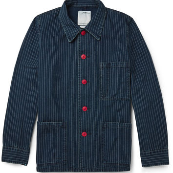 Visvim - Travail Indigo Wabash Coverall Jacket | MR PORTER