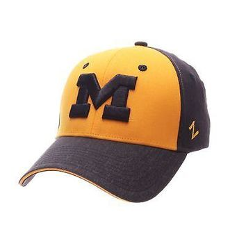super popular c398a d21bb Licensed Michigan Wolverines Official NCAA Challenger Small Hat