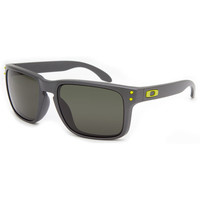 Oakley Holbrook Sunglasses Steel/Dark Grey One Size For Men 21599414301