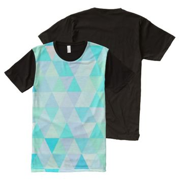 abstract pattern All-Over-Print T-Shirt