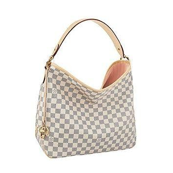Tagre™ Louis Vuitton Damier Canvas Delightful MM Handbag Article :N41607 Made in France Louis Vuitton Bag