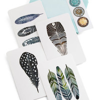ModCloth Boho I Can and I Quill Notecard Set