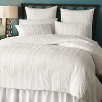 Brynne Bedding & Duvet - White
