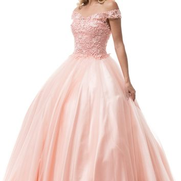 Off the shoulders Prom ball gown quinceanera dress BC#cc61232