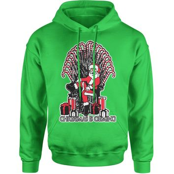 Christmas Is Coming GoT Ugly Christmas Adult Hoodie Sweatshirt
