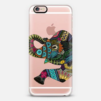asian elephant transparent iPhone 6s case by Sharon Turner | Casetify